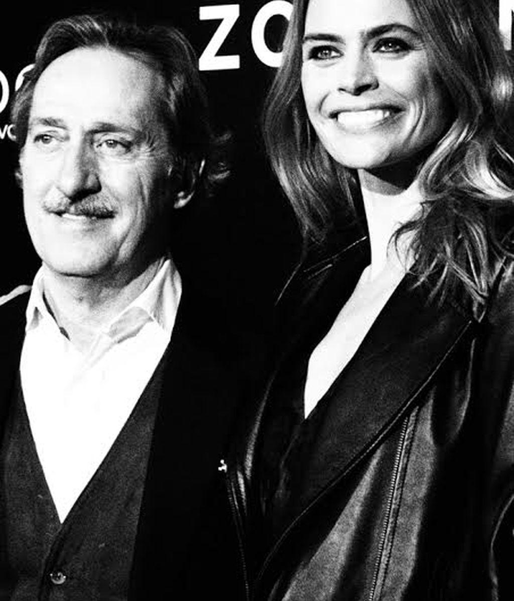 Roberto Torretta con su amiga, la top Verónica Blume