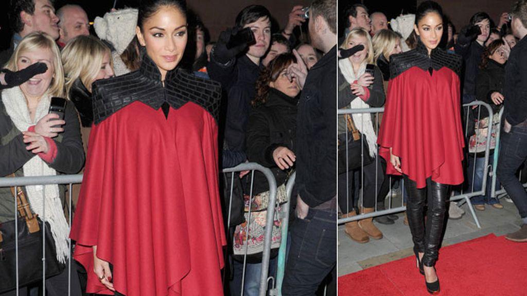 Scherzinger, la nueva 'batwoman'