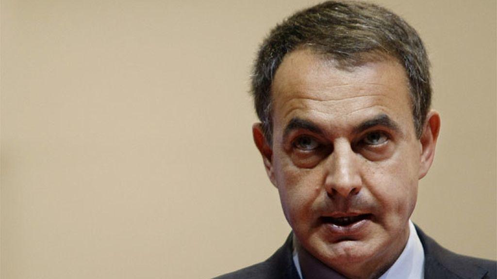 El presidente del Gobierno, Jose Luis Rodriguez Zapatero