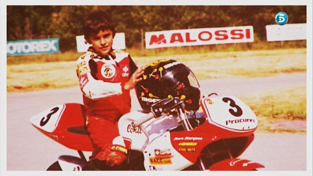 ¿Cómo era Marc Márquez de pequeño?