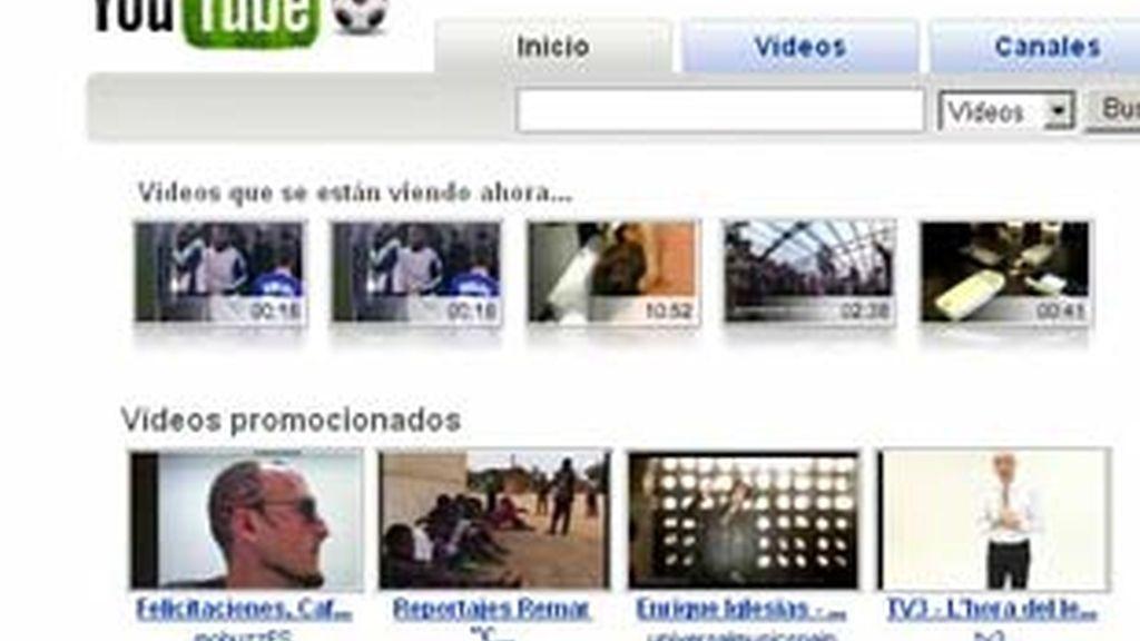 El buscador de vídeos en la red