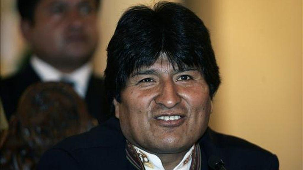 Morales ya ha cancelado dos visitas a Cuba a última hora, una en 2008 y la segunda en abril pasado, cuando se declaró en huelga de hambre contra la oposición. EFE/Archivo