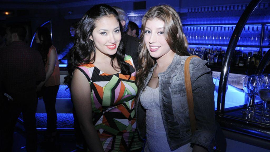 Giselle Calderón y Erika Sánchez