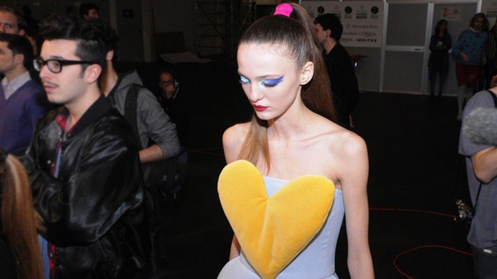 El corazón, un fetiche siempre presente en la ropa de Agatha Ruiz de la Prada