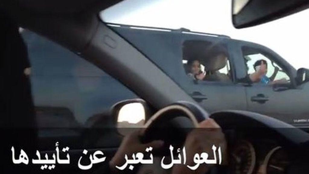 Mujeres de Arabia Saudí, al volante