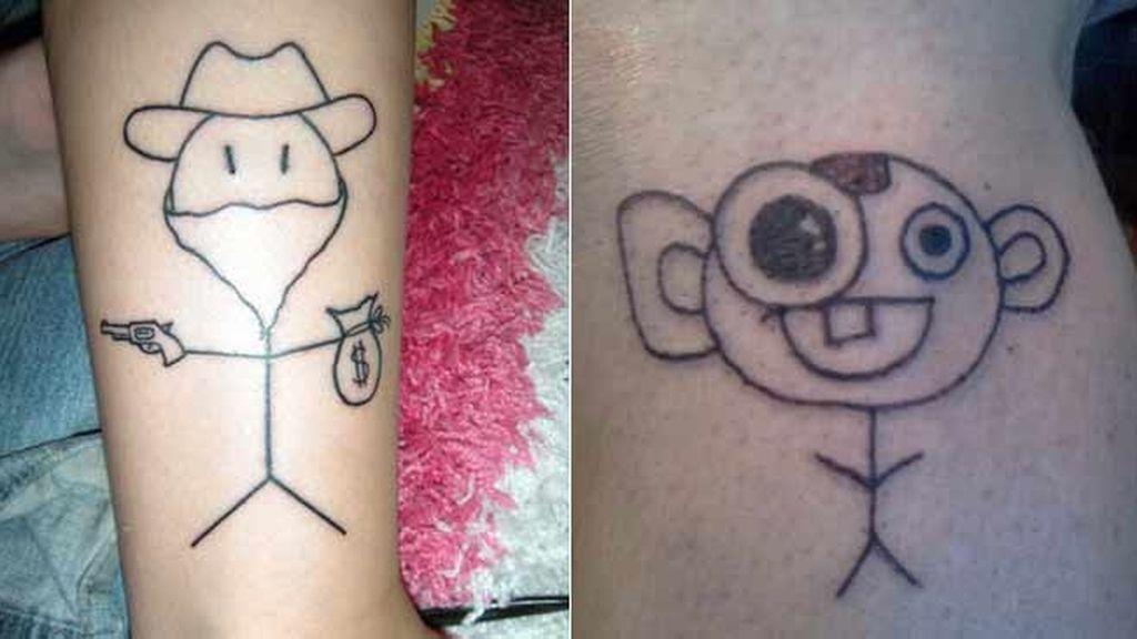 Los tatuajes más ridículos