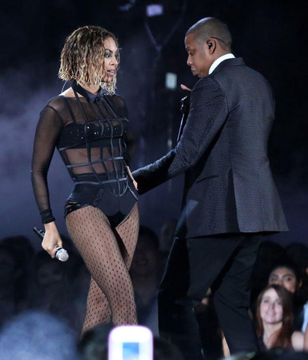 Beyoncé y Jay-Z actuaron juntos