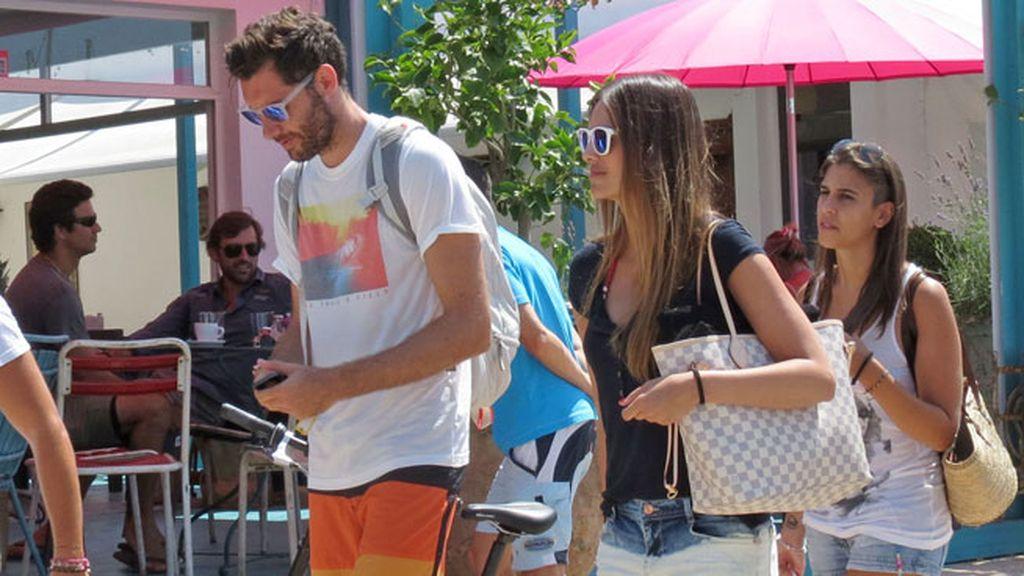 Helen Lindes y Rudy Fernández disfutan de su amor en Ibiza