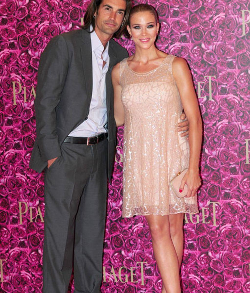 Patricia Montero, feliz junto a Álex Adrover