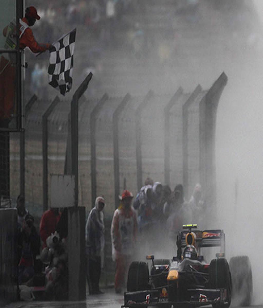Vettel, el piloto más joven en ganar dos carreras