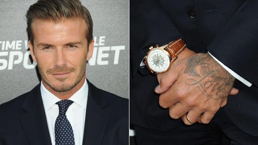 Beckham es todo amor
