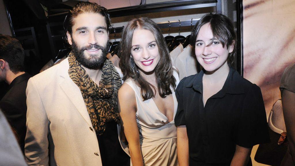 Álex García, Silvia Alonso y Macarena Sanz