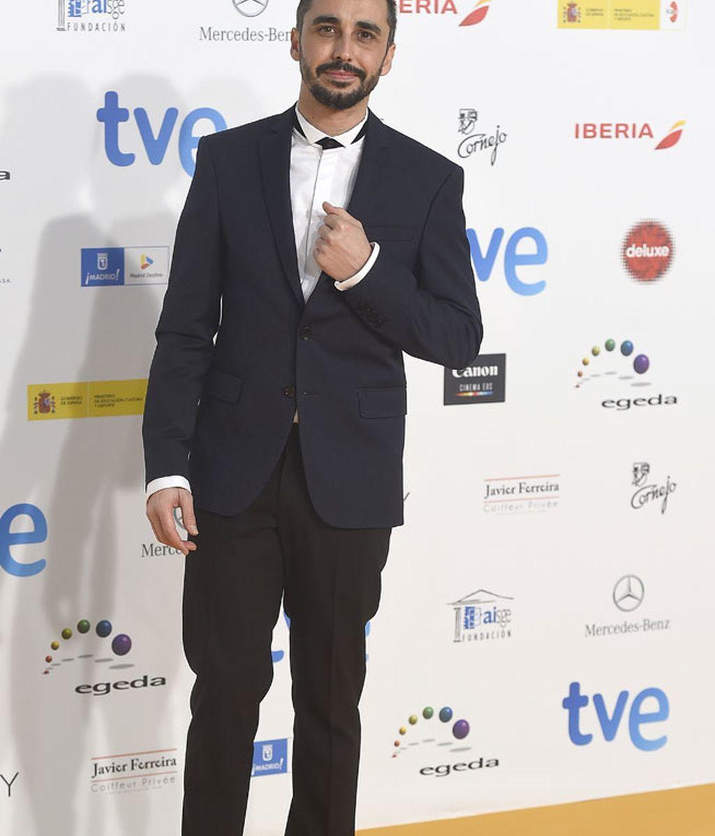 El actor Canco Rodríguez tampoco se perdió los premios