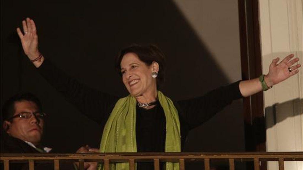 En la imagen, la candidata izquierdista, Susana Villarán. EFE/Archivo
