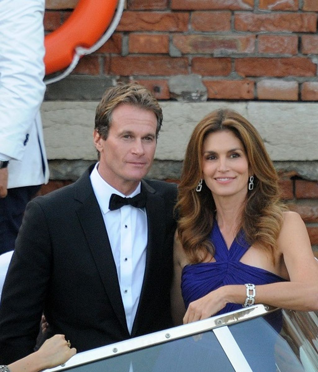 Cindy Crawford y Render Gerber