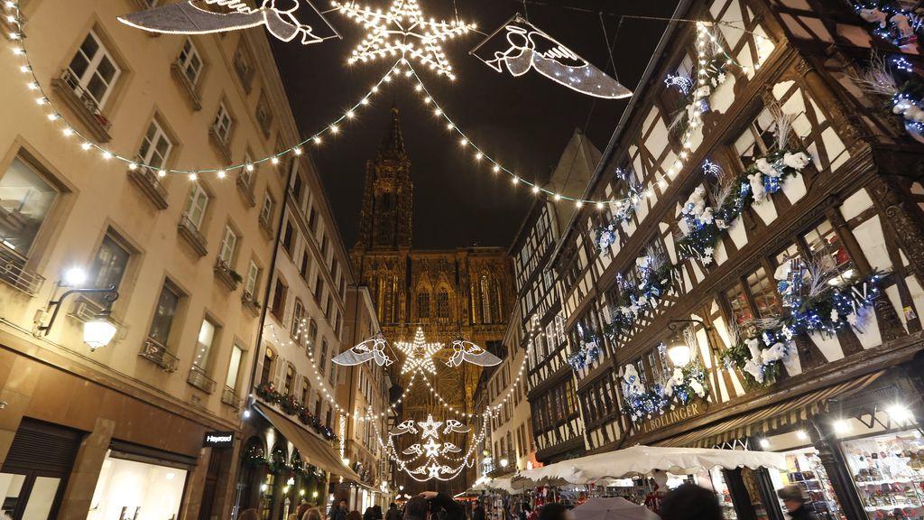Navidad en Estrasburgo (Francia)
