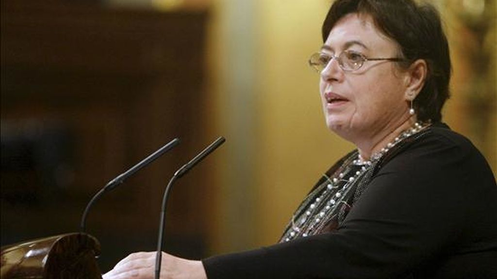 La diputada del BNG María Olaia Fernández Dávila. EFE/Archivo