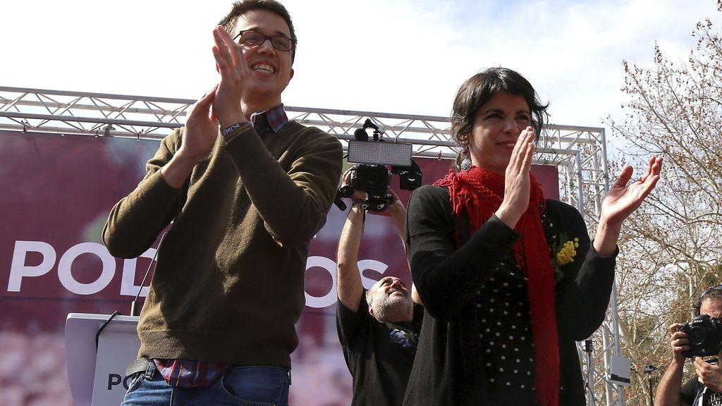 Acto de Podemos en Andalucía