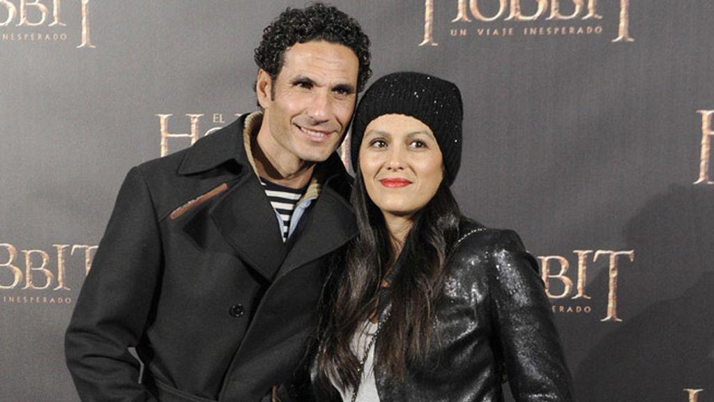 El torero Óscar Higares y Sandra Álvarez