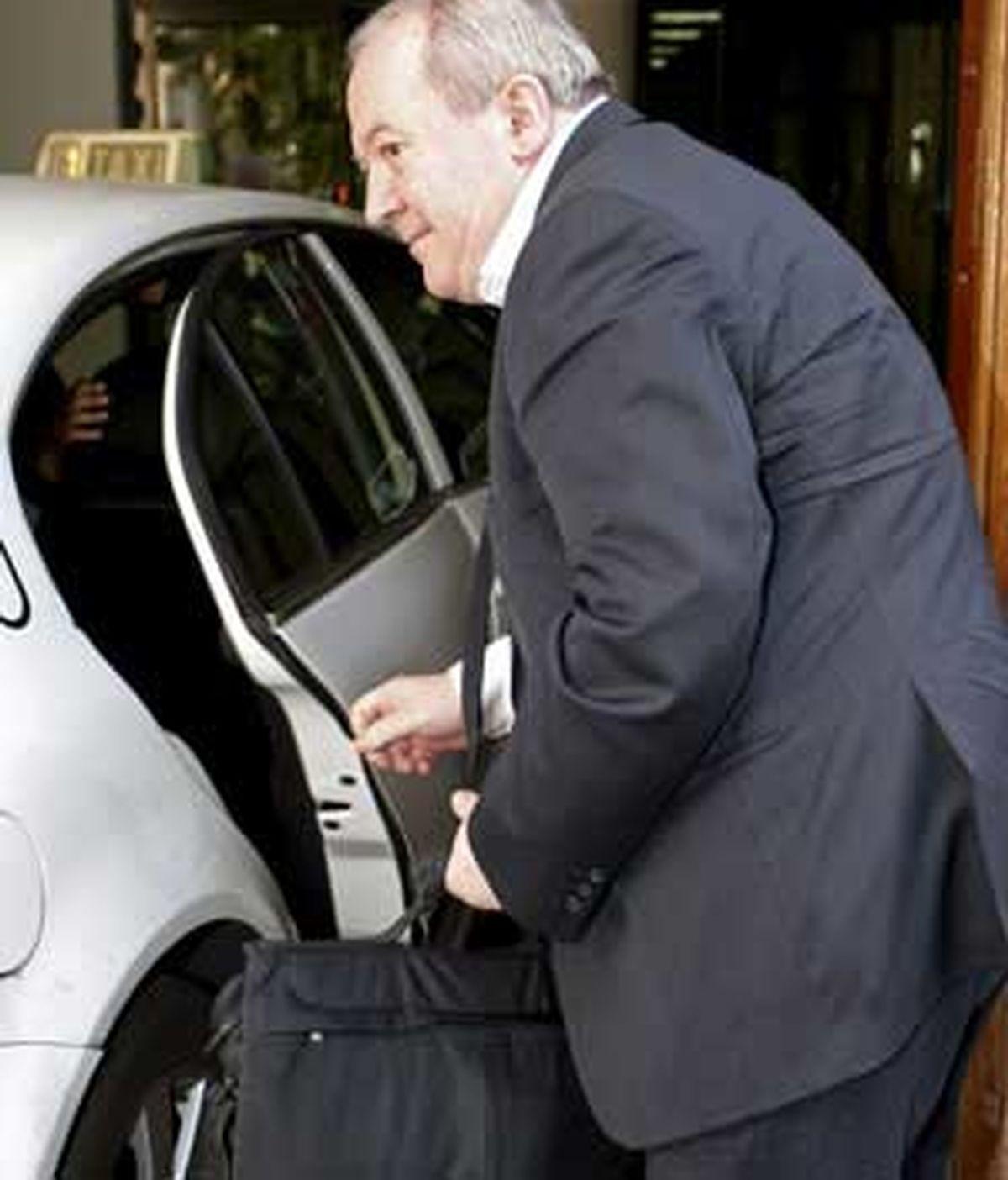 El magistrado Antonio Pedreira en una imagen de archivo. Foto EFE.
