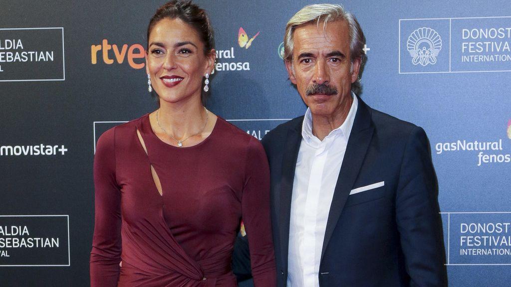 """Irene Meritxell e Imanol Arias en el estreno de """"Eva no duerme"""""""