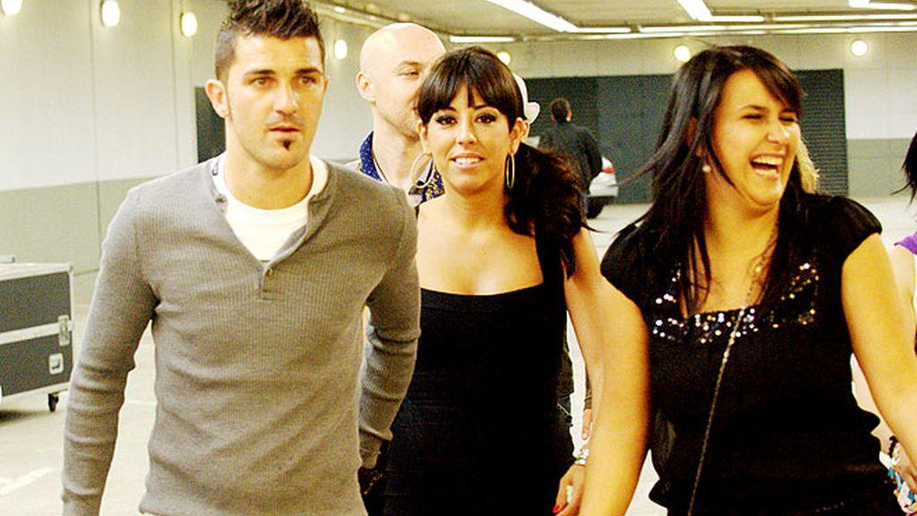 Los del Barça, ennoviados en el concierto de Shakira