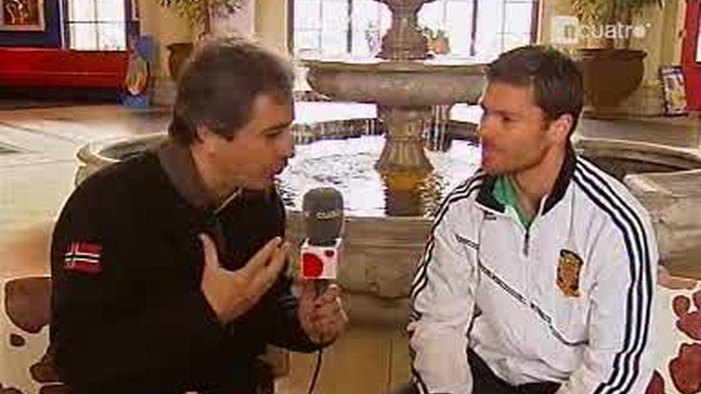 Entrevista a Xabi Alonso (1 de 2)