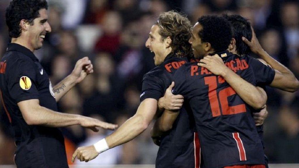 El Atlético marca su segundo gol