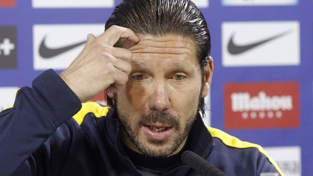 """Simeone: """"La segunda vuelta es complicada, todos piensan en puntuar y pocos en jugar"""""""