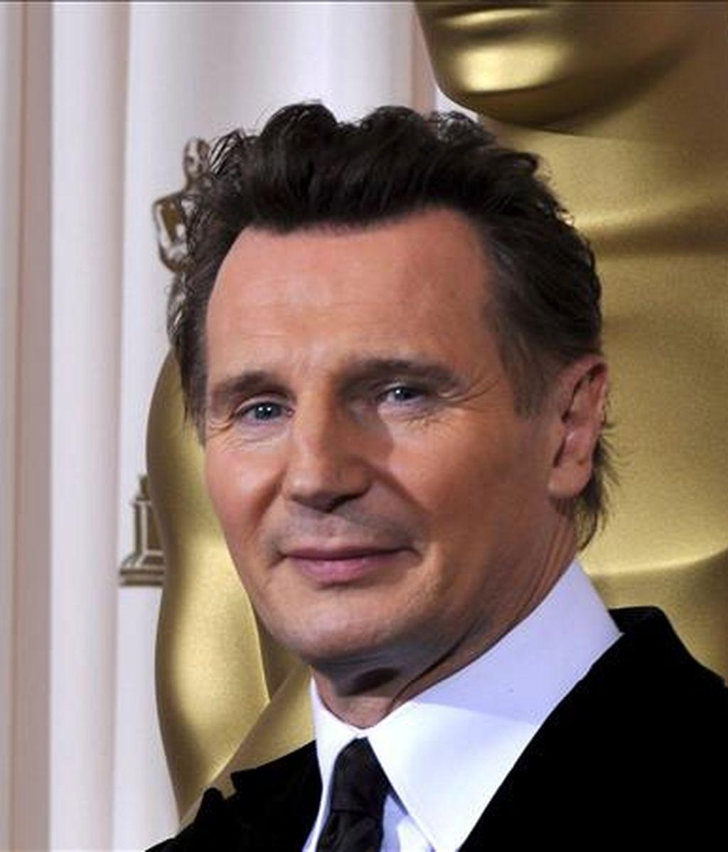 Neeson (en la imagen), de 56 años, tendrá como compañero de reparto al británico  Ralph Fiennes, encargado de encarnar al dios del inframundo Hades. EFE/Archivo