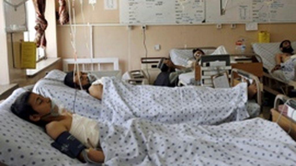 Heridos tras un atentado suicida en una boda