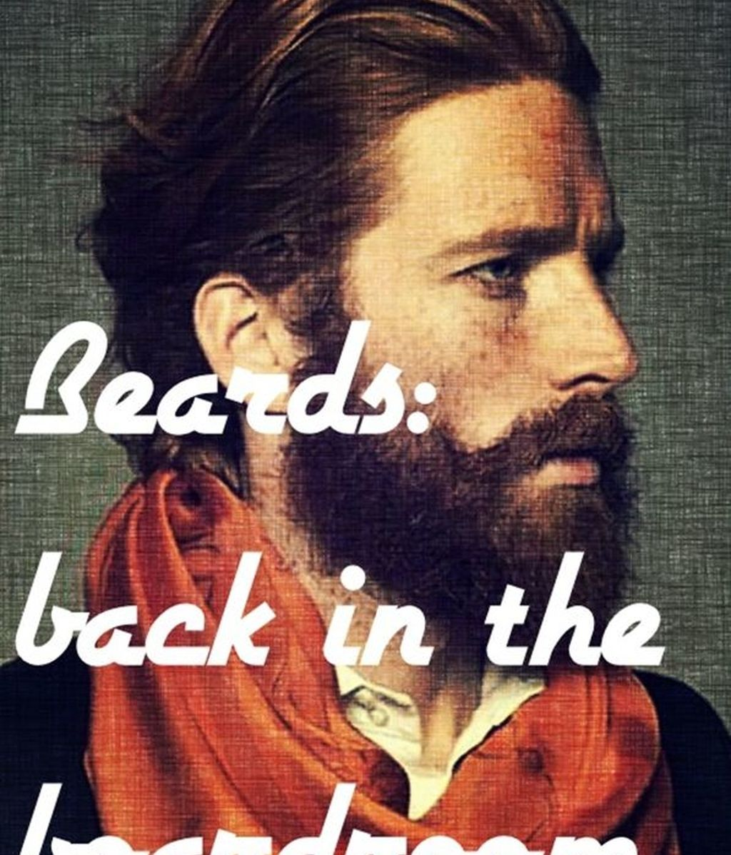Barbas, hipster,