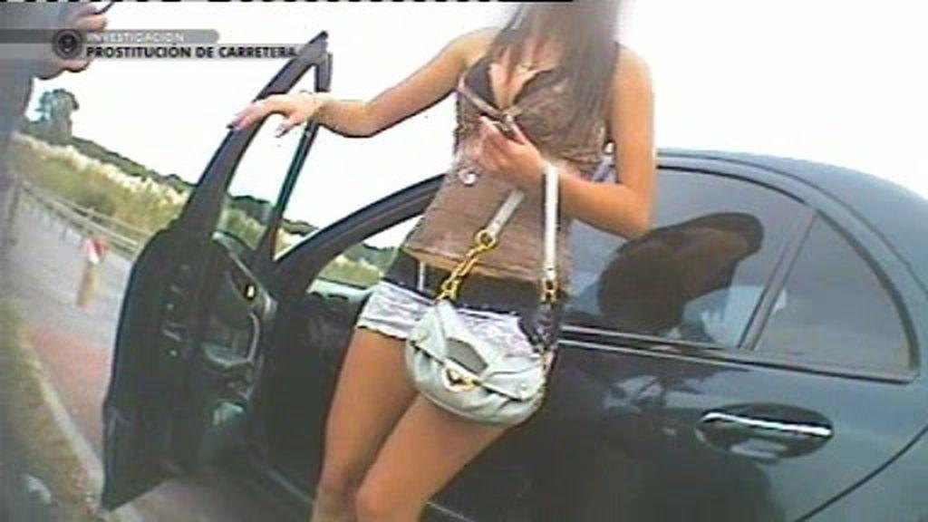 Las prostitutas de carretera también escogen