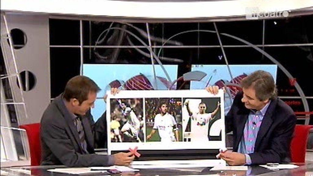 Higuaín, Raúl o Benzema: ¿A quién no pondrías?