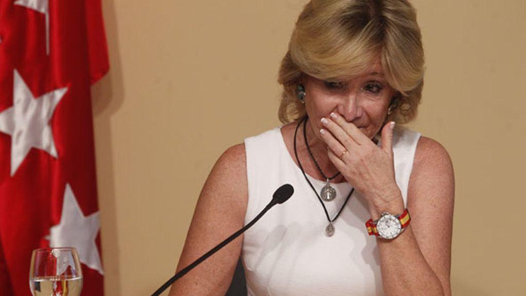 #AguirreDimite, la lideresa madrileña que dijo adiós a la política