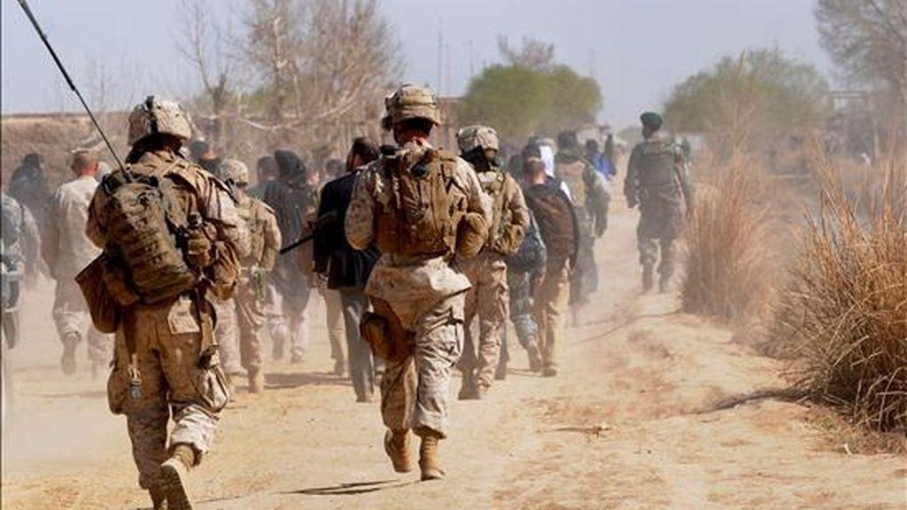 Hasta ahora la zona norte del país era considerada relativamente pacífica pero la violencia ha aumentado en los últimos meses y el Pentágono teme por la seguridad de las líneas de abastecimiento de las unidades de la OTAN. EFE/Archivo