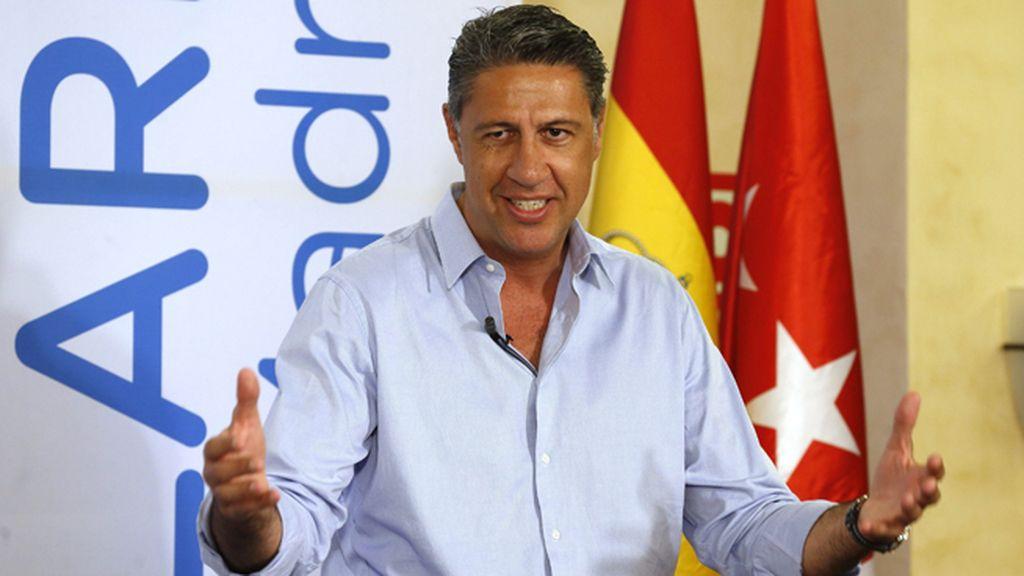 Xavier García Albiol en Madrid