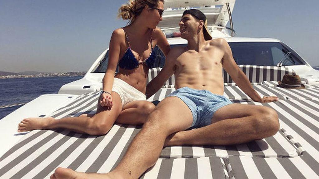 Los más empalagosos del verano: Álvaro Morata y Alice Campello