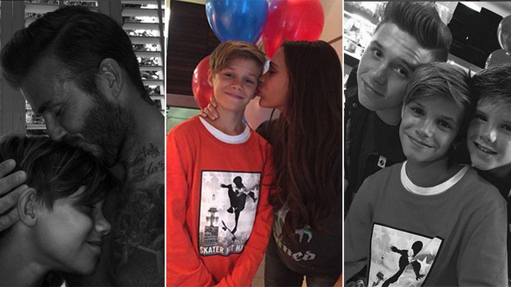 David y Victoria Beckham, orgullosos de su hijo Romeo en su 13 cumpleaños