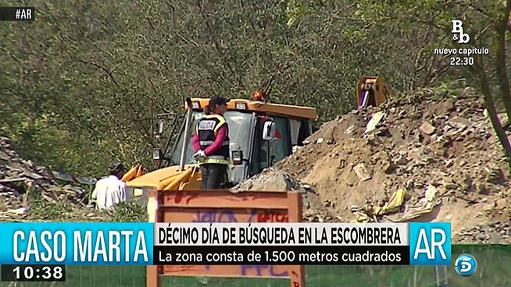 La policía científica ya ha comenzado a analizar los restos