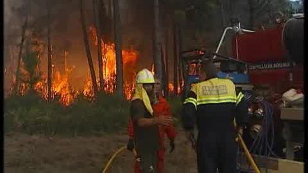 Los incendios de Galicia no cesan
