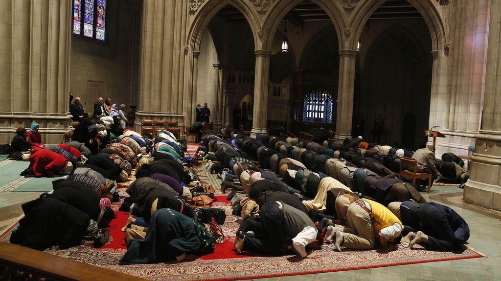 La Catedral Nacional de Washington se convierte por un día en mezquita