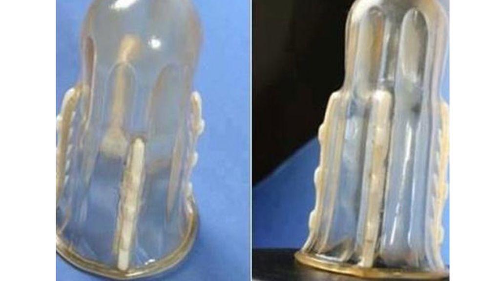 El condón 'con dientes' para evitar violaciones