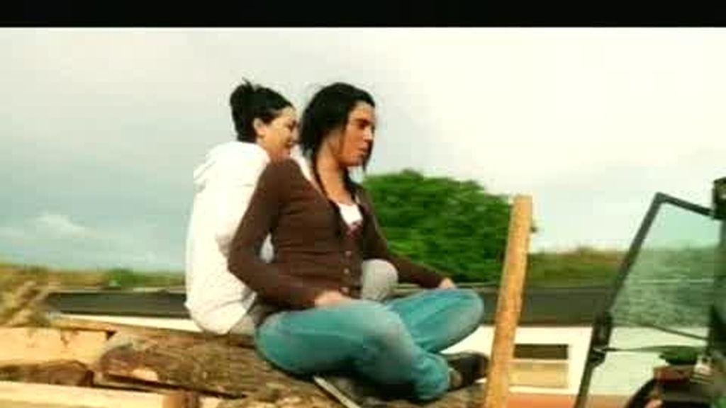 Guiomar y Melania se adaptan bien a la vida en la granja