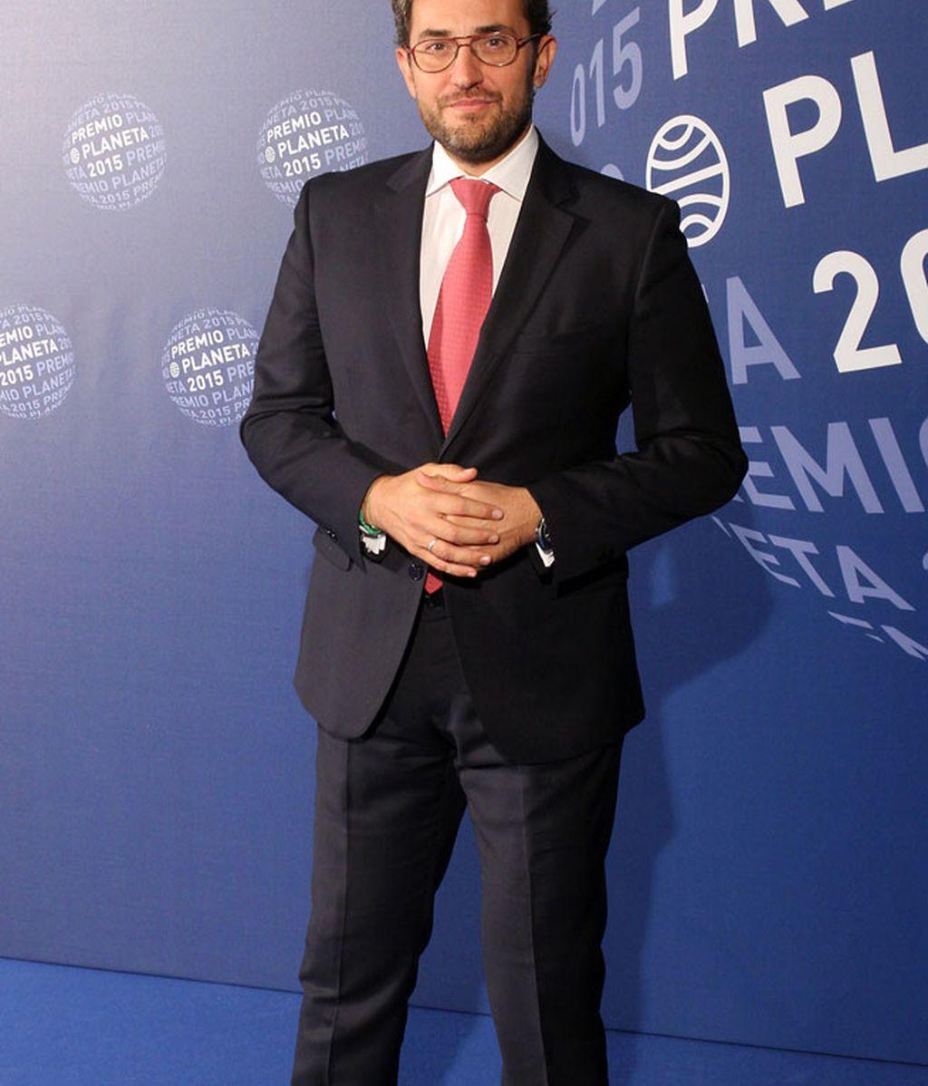 El presentador Máxim Huerta, que está a punto de publicar su nueva novela
