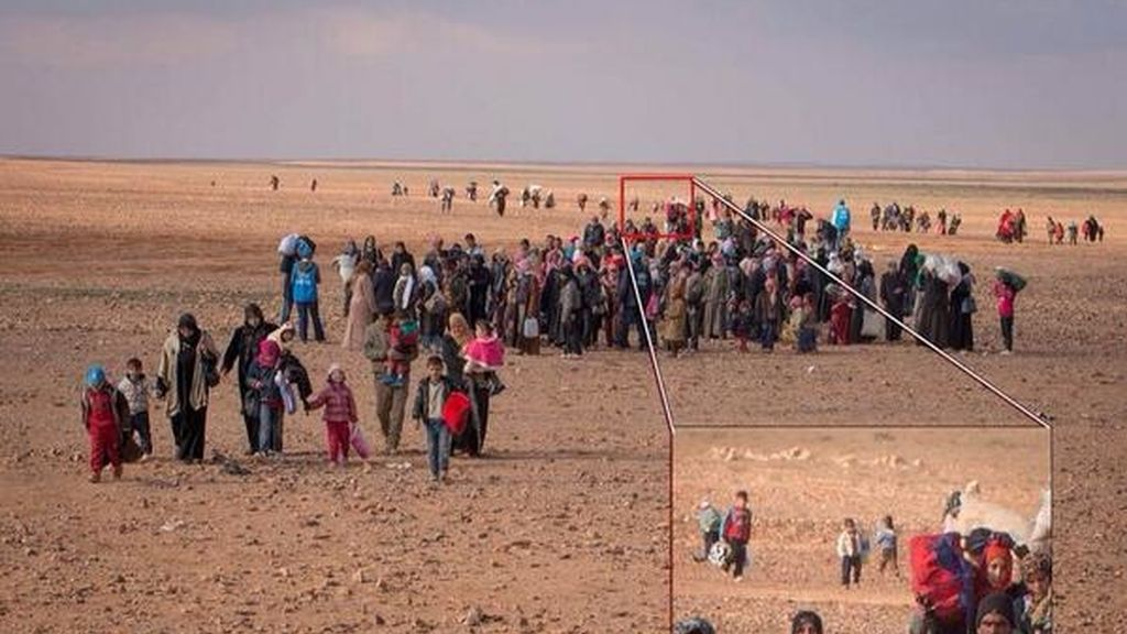 Marwan junto a un grupo de emigrados sirios huye a Jordania