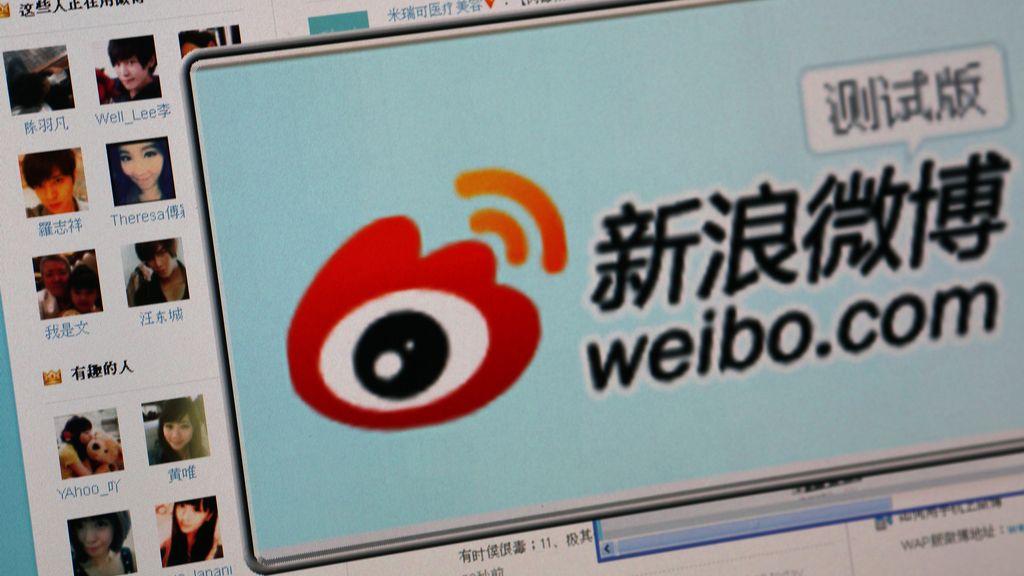 Weibo es el equivalente chino a Twitter