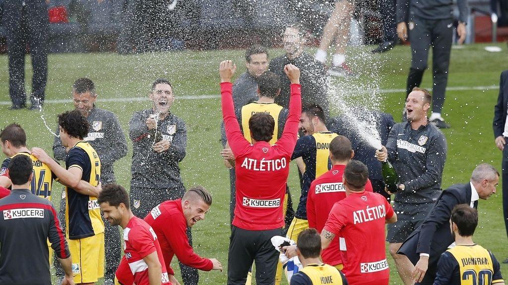 El Atlético de Madrid, campeón