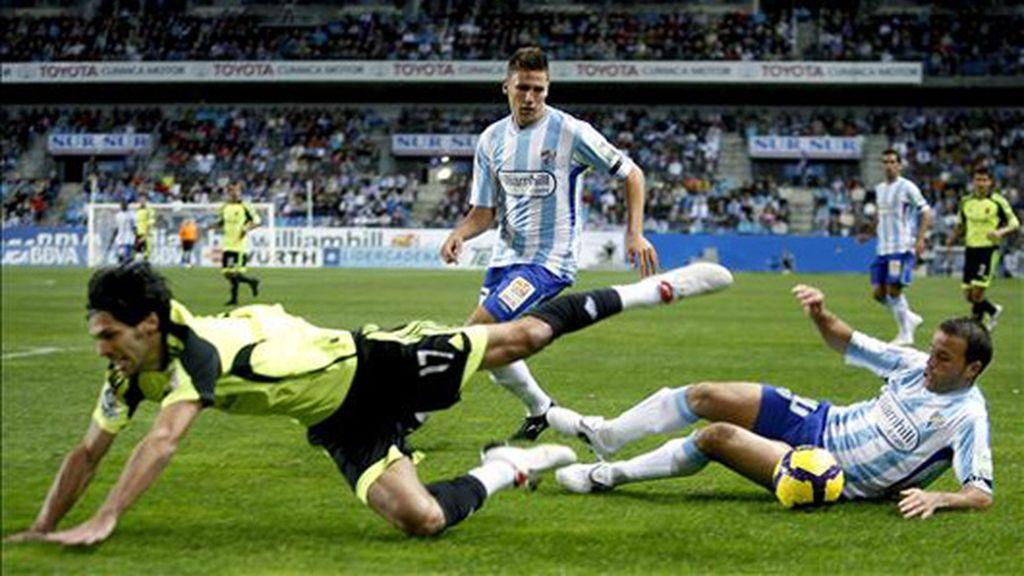 1-1. El Málaga sigue colista al ser incapaz de ganar a un Zaragoza conservador