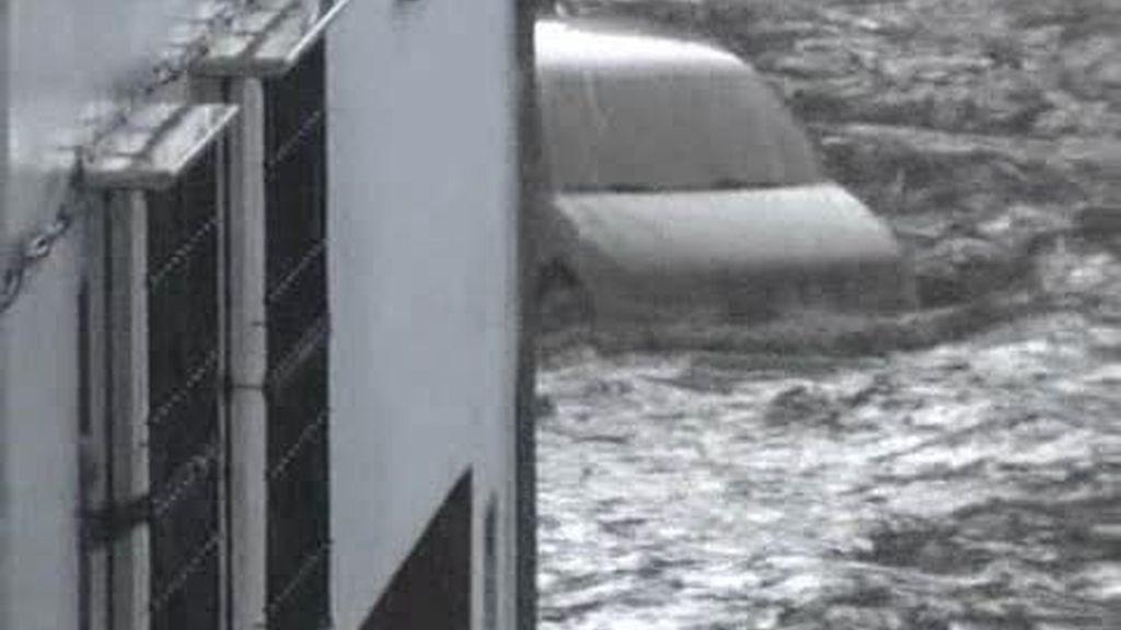 Algámitas se recupera del diluvio